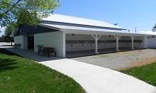 Outside of Racing Barn