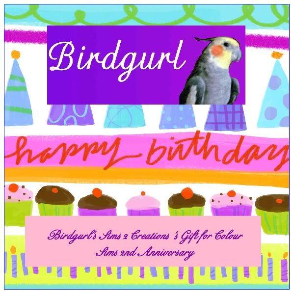 Birdgurl's Sims 2 Creations Giftbanner