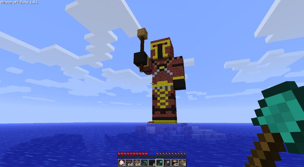 Qhorne Statue! :D 2011-10-13_021827