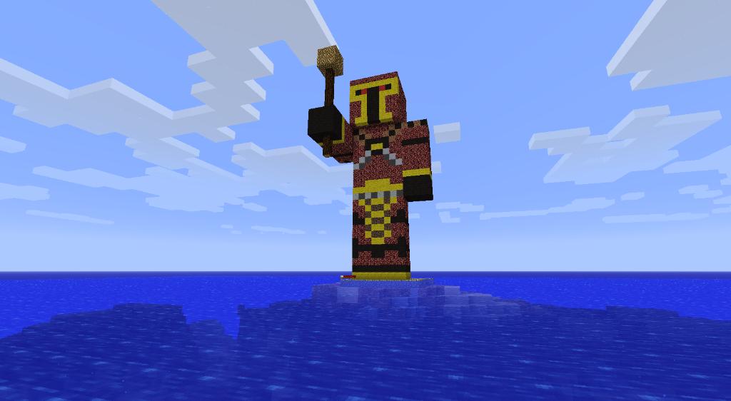 Qhorne Statue! :D 2011-10-13_021831