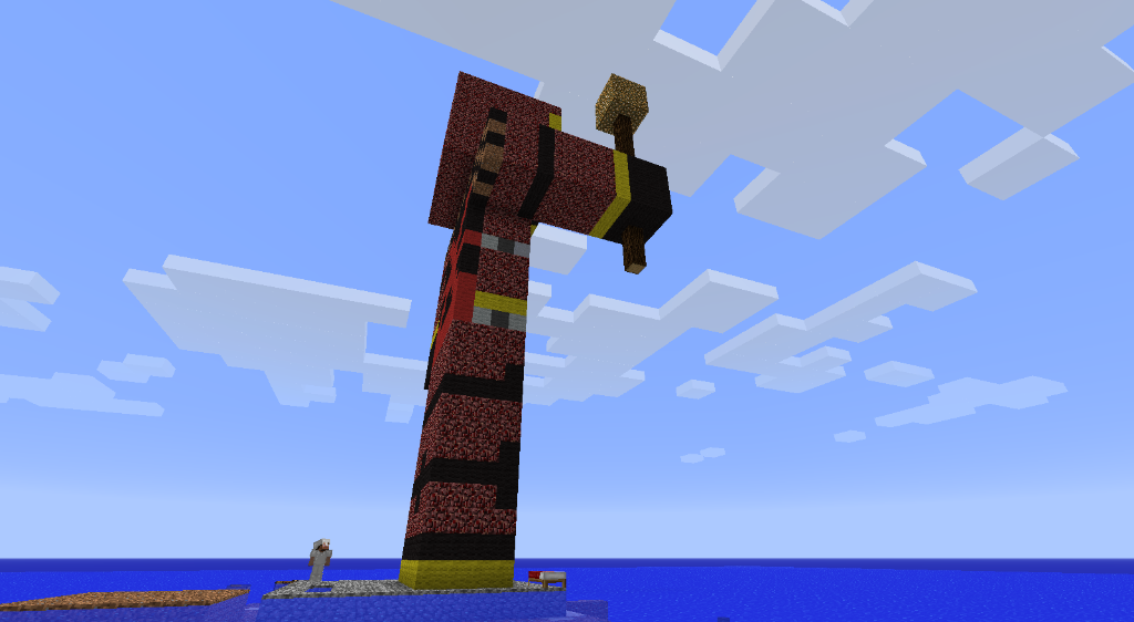 Qhorne Statue! :D 2011-10-13_021930