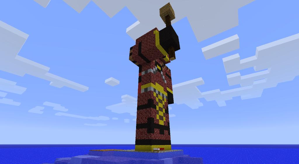 Qhorne Statue! :D 2011-10-13_021940