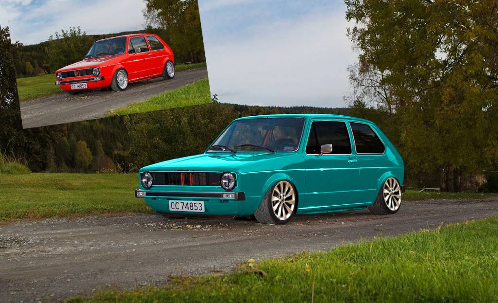 always up for photoshoping :) Golfgti