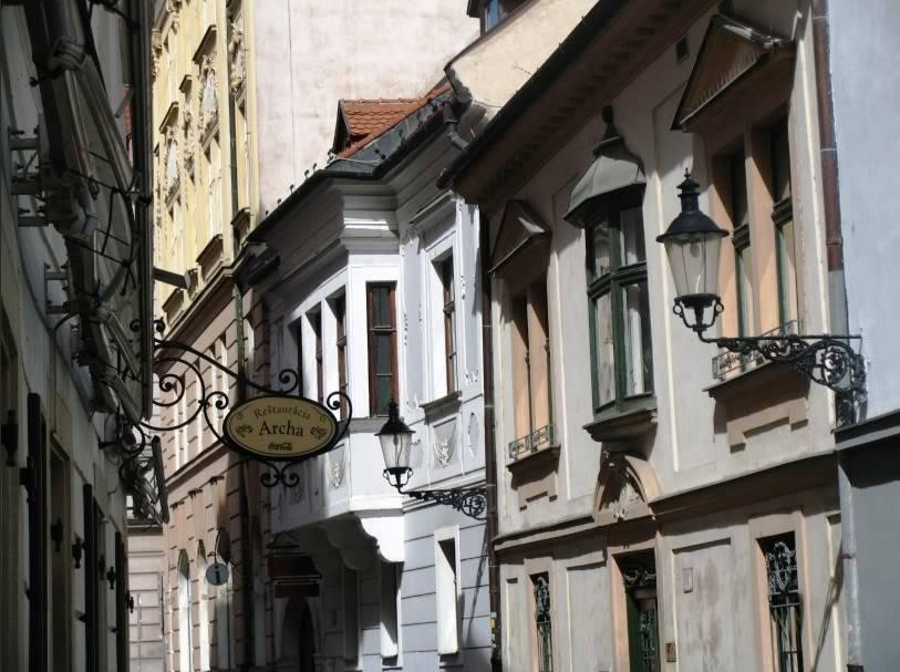 Gradovi sirom sveta Slovakia_Bratislava_OldStreet