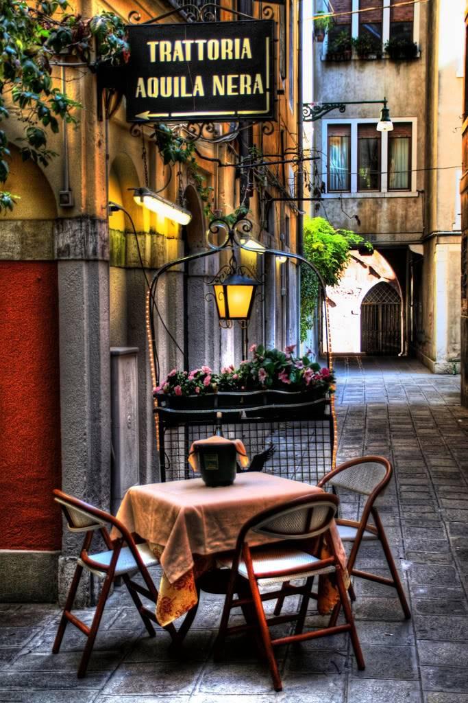 Gradovi sirom sveta Venicerestaurant