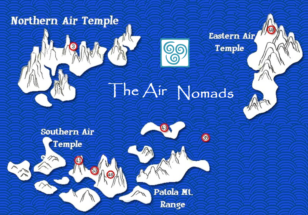 Air Nomads Information _AirTemples