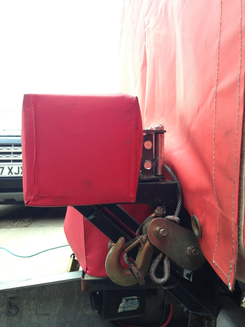 Ifor William Trailer and new winch  AEC7A7CE-3D95-4D71-B52E-21B18F9C4358_zpscre80p72