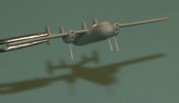 Améliorer des avions au 1/400eme Hawkeye
