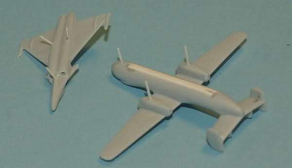 Améliorer des avions au 1/400eme Hawkeye__Rafale