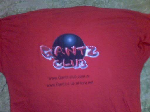 Dedicado para mis reds y para gantz club Partetrasera