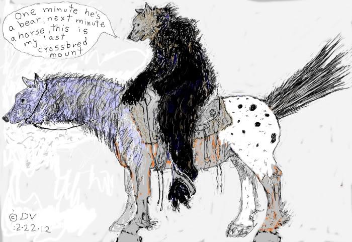 Wierd thought Bearhorsecrossbred