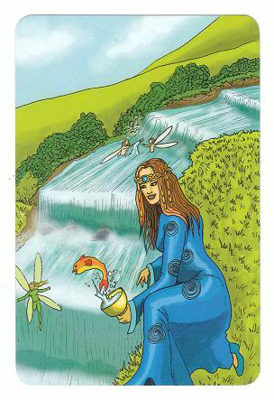 Today's Card - 0 The Fool,  A King's Journey Tarot 11Princess-PageofCups-AKingsJourneyTarot_0005