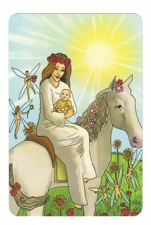 Today's Card - 0 The Fool,  A King's Journey Tarot 19TheSun-AKingsJourneyTarot_0005