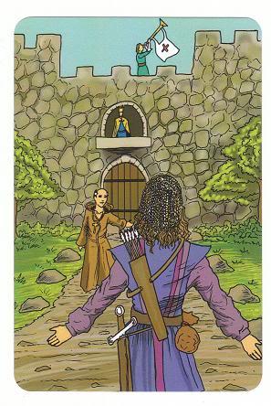 Today's Card - 0 The Fool,  A King's Journey Tarot 20Judgement-AKingsJourneyTarot_0005