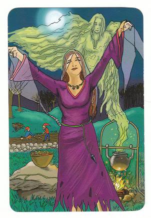 Today's Card - 0 The Fool,  A King's Journey Tarot - Page 2 2TheHighPriestess-AKingsJourneyTarot_0005