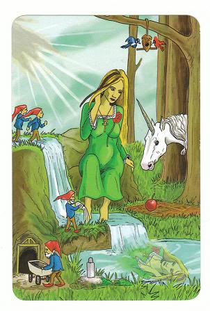 Today's Card - 0 The Fool,  A King's Journey Tarot - Page 2 3TheEmpress0AKingsJourneyTarot_0005