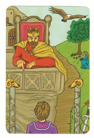 Today's Card - 0 The Fool,  A King's Journey Tarot - Page 2 4TheEmperor-AKingsJourneyTarot_0005