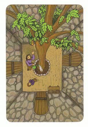 Today's Card - 0 The Fool,  A King's Journey Tarot SoulExtraCardMajors-AKingsJourneyTarot_0005