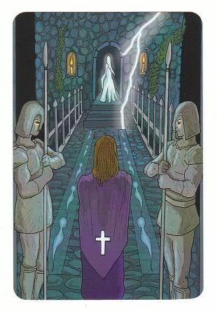 Today's Card - 0 The Fool,  A King's Journey Tarot 10ofSpirit-AKingsJourneyTarot_0005