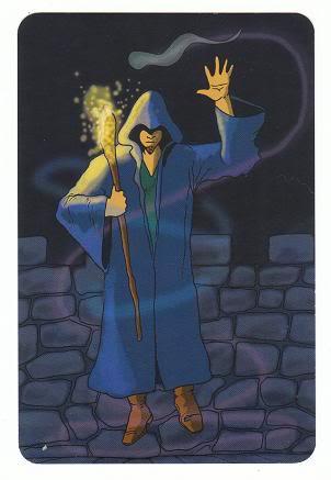 Today's Card - 0 The Fool,  A King's Journey Tarot 12KnightofSpirit-AKingsJourneyTarot_0005