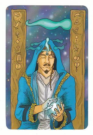 Today's Card - 0 The Fool,  A King's Journey Tarot 14KingofSpirit-AKingsJourneyTarot_0005