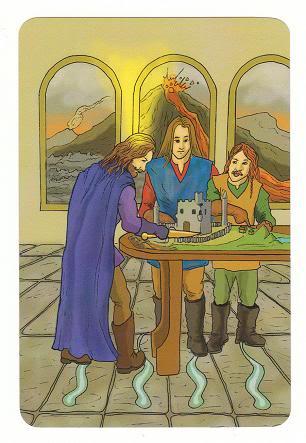 Today's Card - 0 The Fool,  A King's Journey Tarot 4ofSpirit-AKingsJourneyTarot_0005