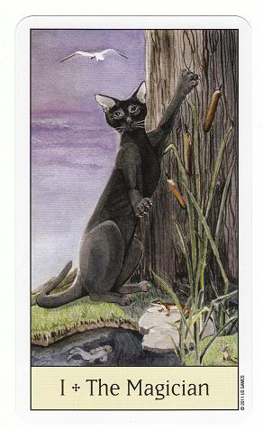 I/1 The Magician - Cat's Eye Tarot 1TheMagician-CatsEyeTarot_0004