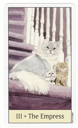 III/3 The Empress - Cat's Eye Tarot 3TheEmpress-CatsEyeTarot_0002