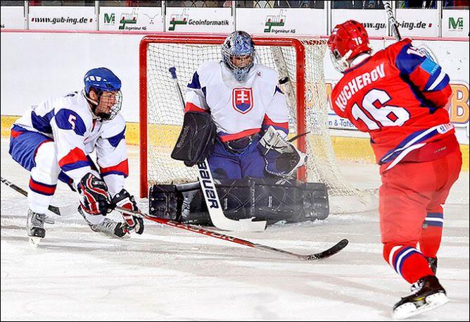 40- Nikita Kucherov (RW) -- CSKA Moscou (KHL) U18RUSSLO3