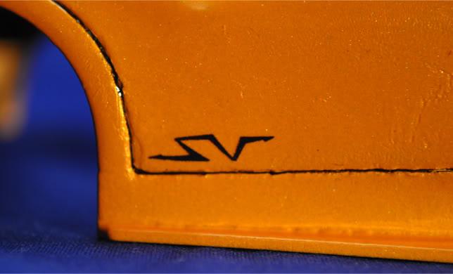1/24 lamborghini murcielago conversion to murcielago sv lp 670-4 Detail12