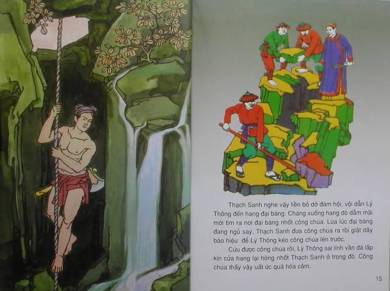 Thạch Sanh - Truyện tranh TS7