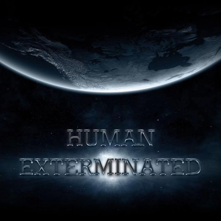 Amper Clap - Human Exterminated EP (AMPRC06) (2014)  Front_zps8b2e34a0