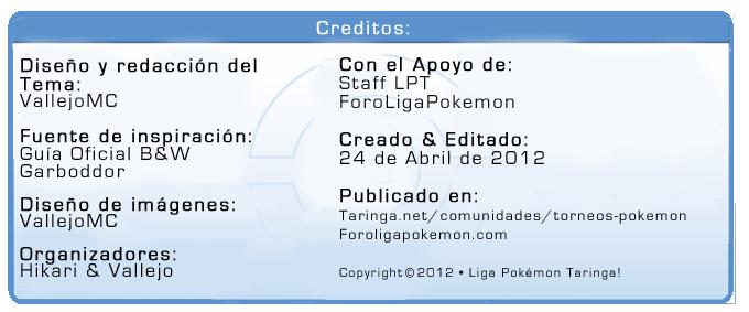 [Proyecto Teselia] • Bienvenido a la Quinta Generación! Creditos-1