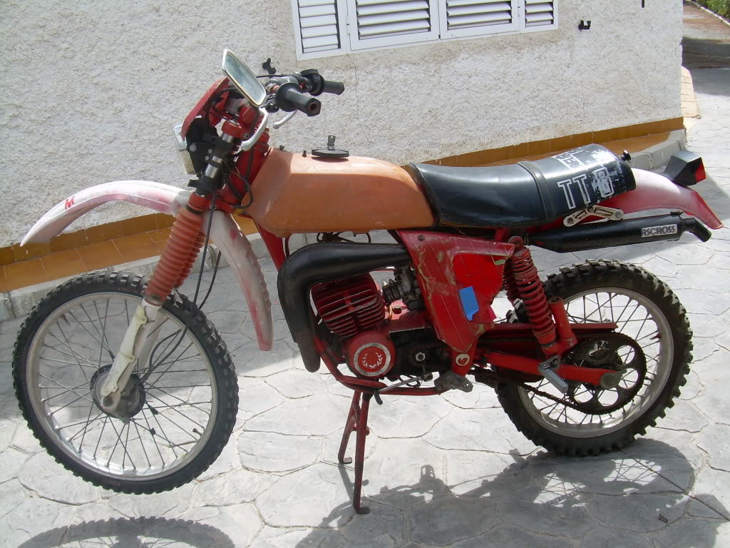 Derbi TT 74 - Restauración 004