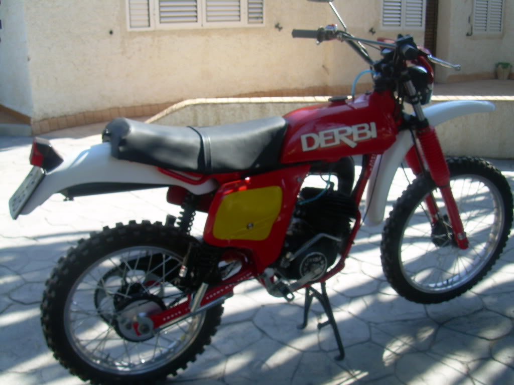 Derbi TT 74 - Restauración 005-17