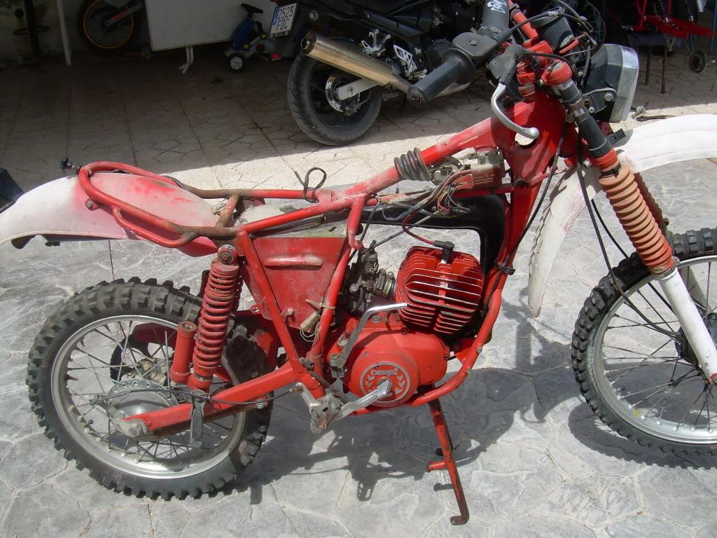 Derbi TT 74 - Restauración 007