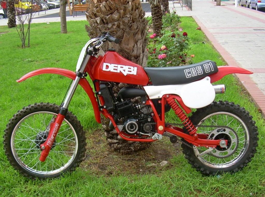Derbi CRS 81 - Resurección De Una 125 016-11