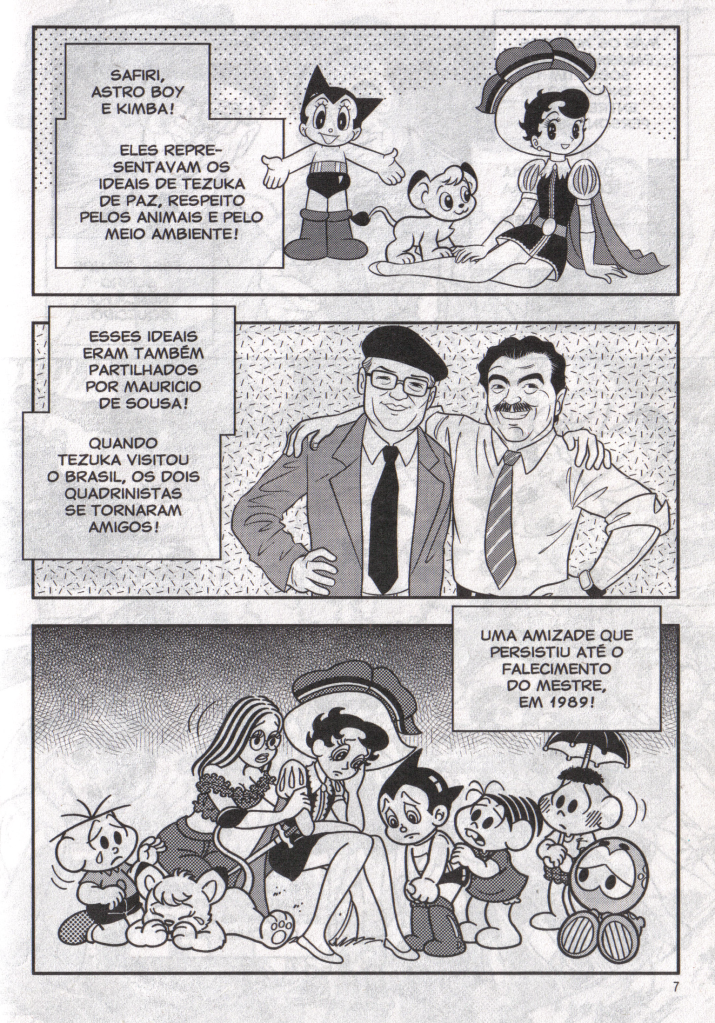 Homenagem à Osamu Tezuka na Turma da Mônica Jovem! Scanmonica7