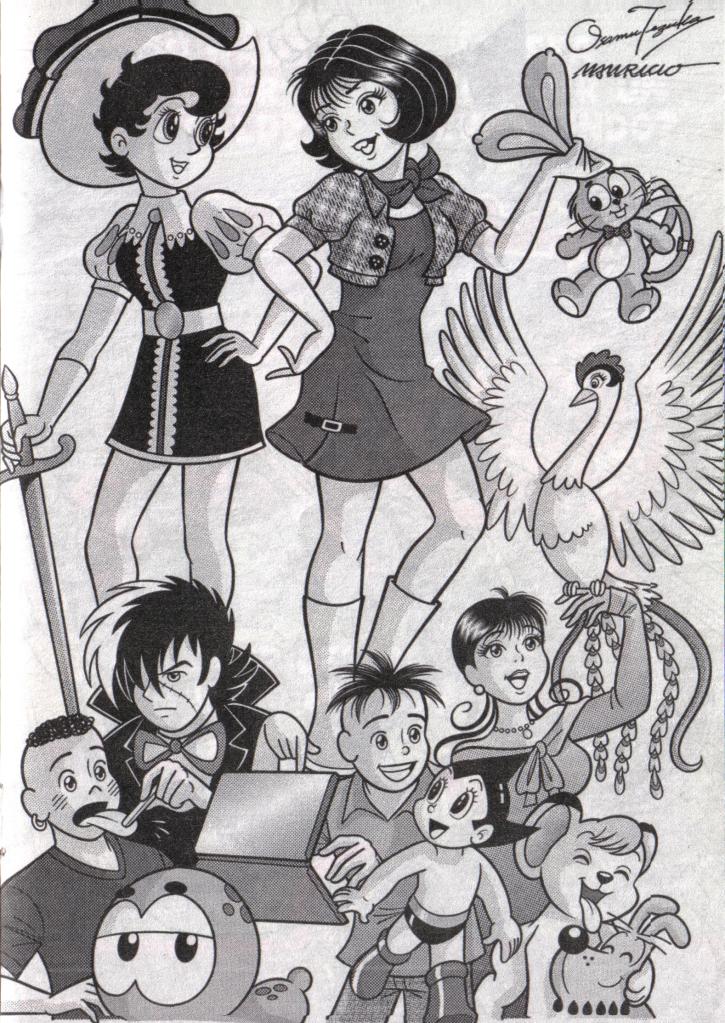 Homenagem à Osamu Tezuka na Turma da Mônica Jovem! Scanmonica9
