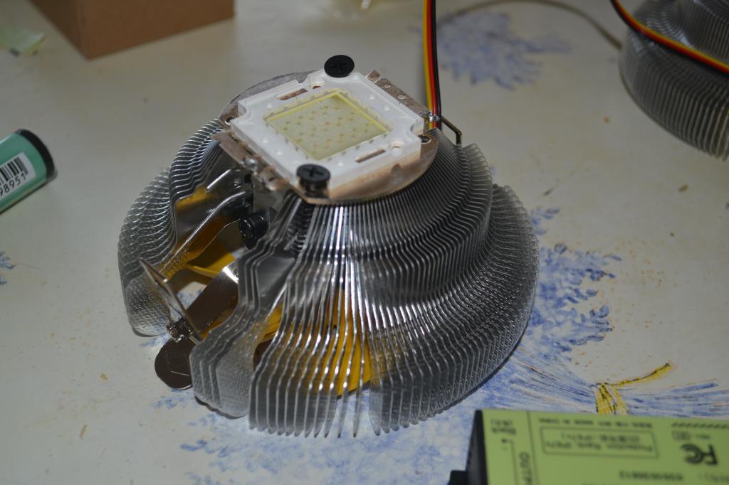 Fabriquation galerie led de puissance 4x30w DSC_3054