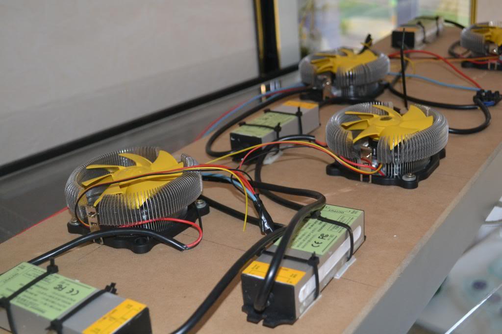 Fabriquation galerie led de puissance 4x30w DSC_3056