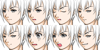 Entity Of Ranma Kuruno23facesetWhiteHair