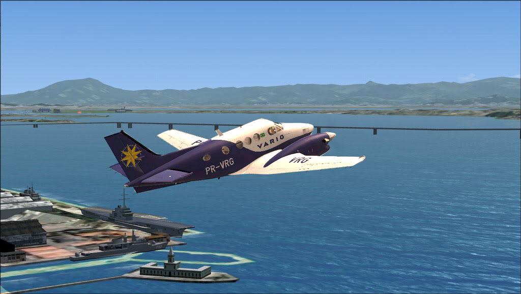 Mais um Varig para o Hangar. C90Varig
