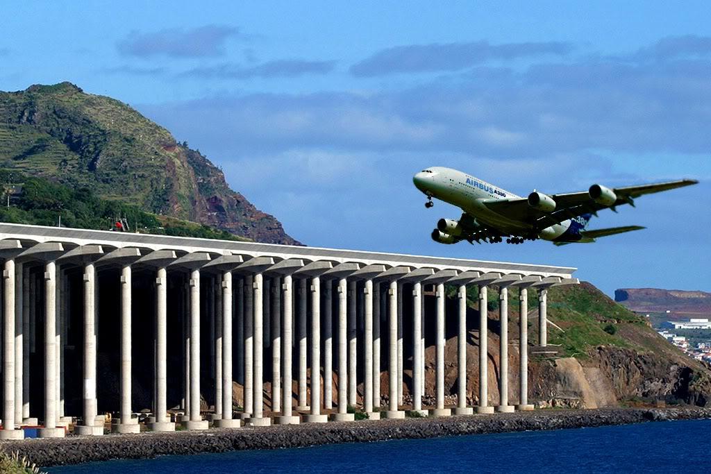 A-380 no SDU? (foto). Madeira380