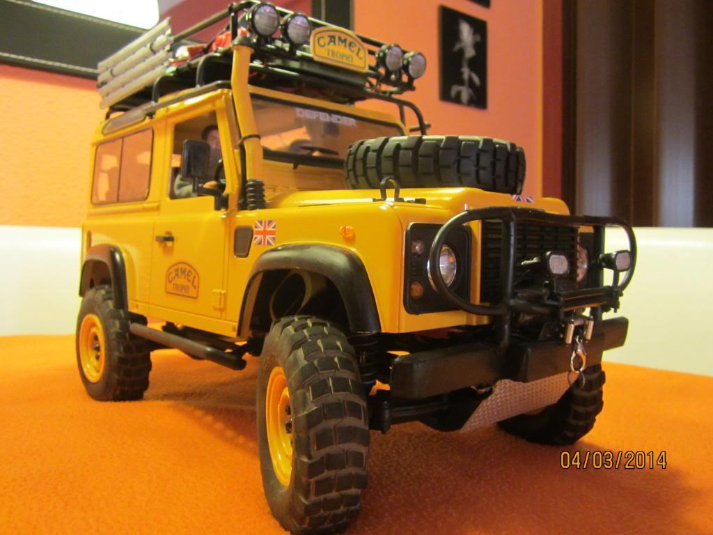 Camel Trophy Land Rover defender 90 Camel105