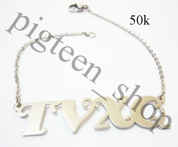 Lắc tay và dây chuyền chữ TVXQ P1010509_