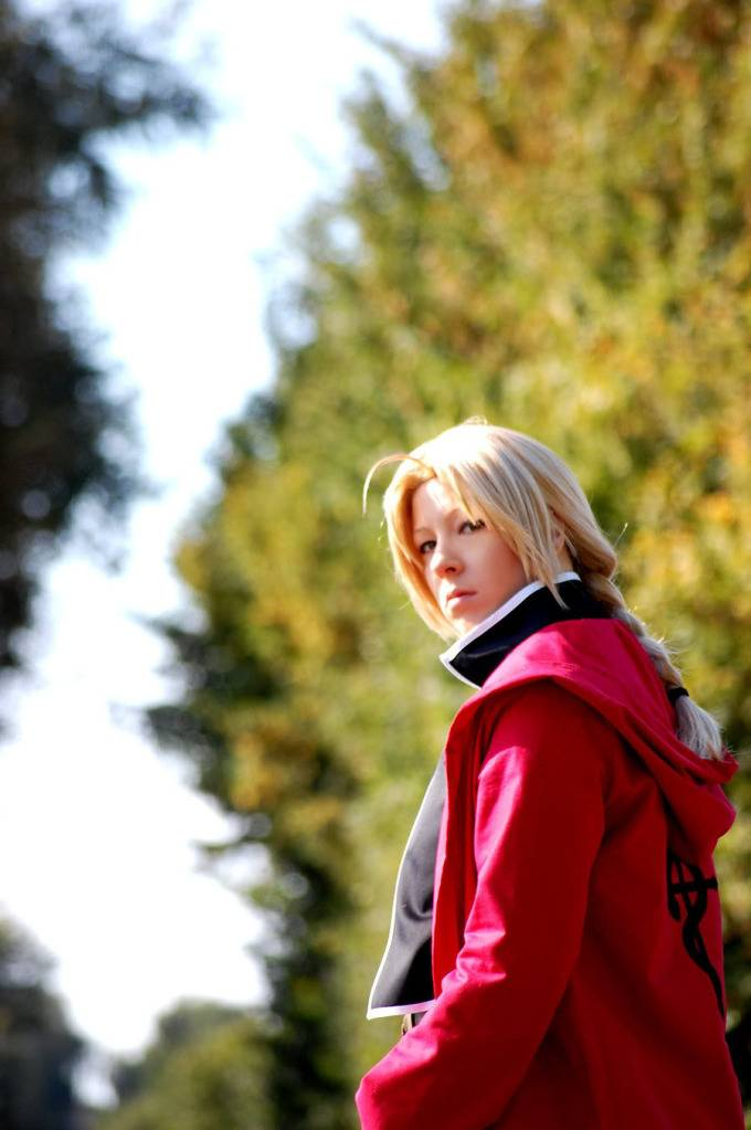 [FMA FC] Fullmetal Alchemist Cosplay !  Ed_Elric___On_my_way_by_Majin_sama