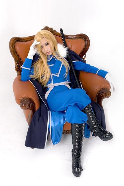 [FMA FC] Fullmetal Alchemist Cosplay !  Olivia-milla-armstrong-cosplay