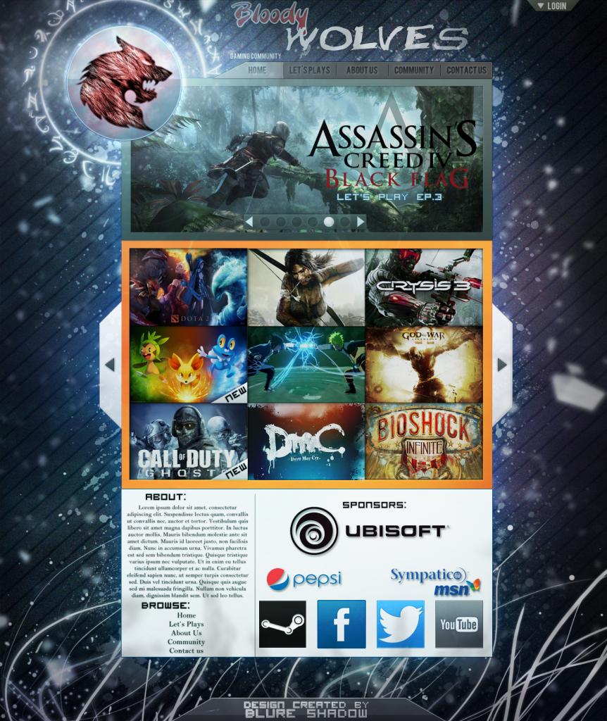 [A doua runda] Best GFXer 2013 Website