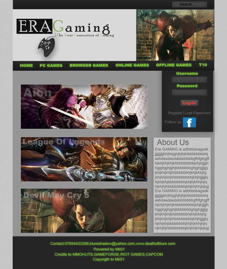 [A doua runda] Best GFXer 2013 Site